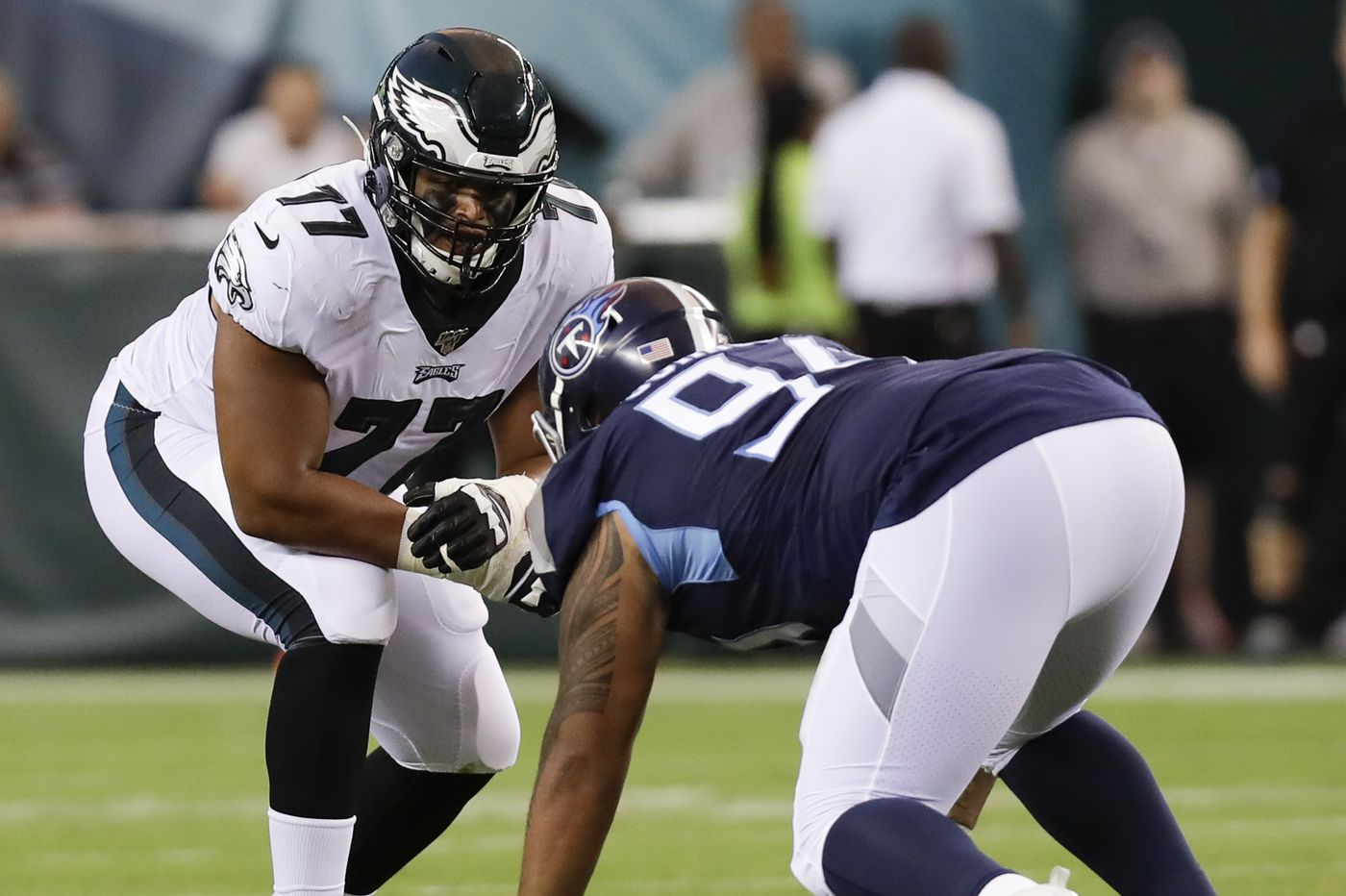 Andre Dillard gave Eagles a glimpse of their future in NFL debut | David Murphy