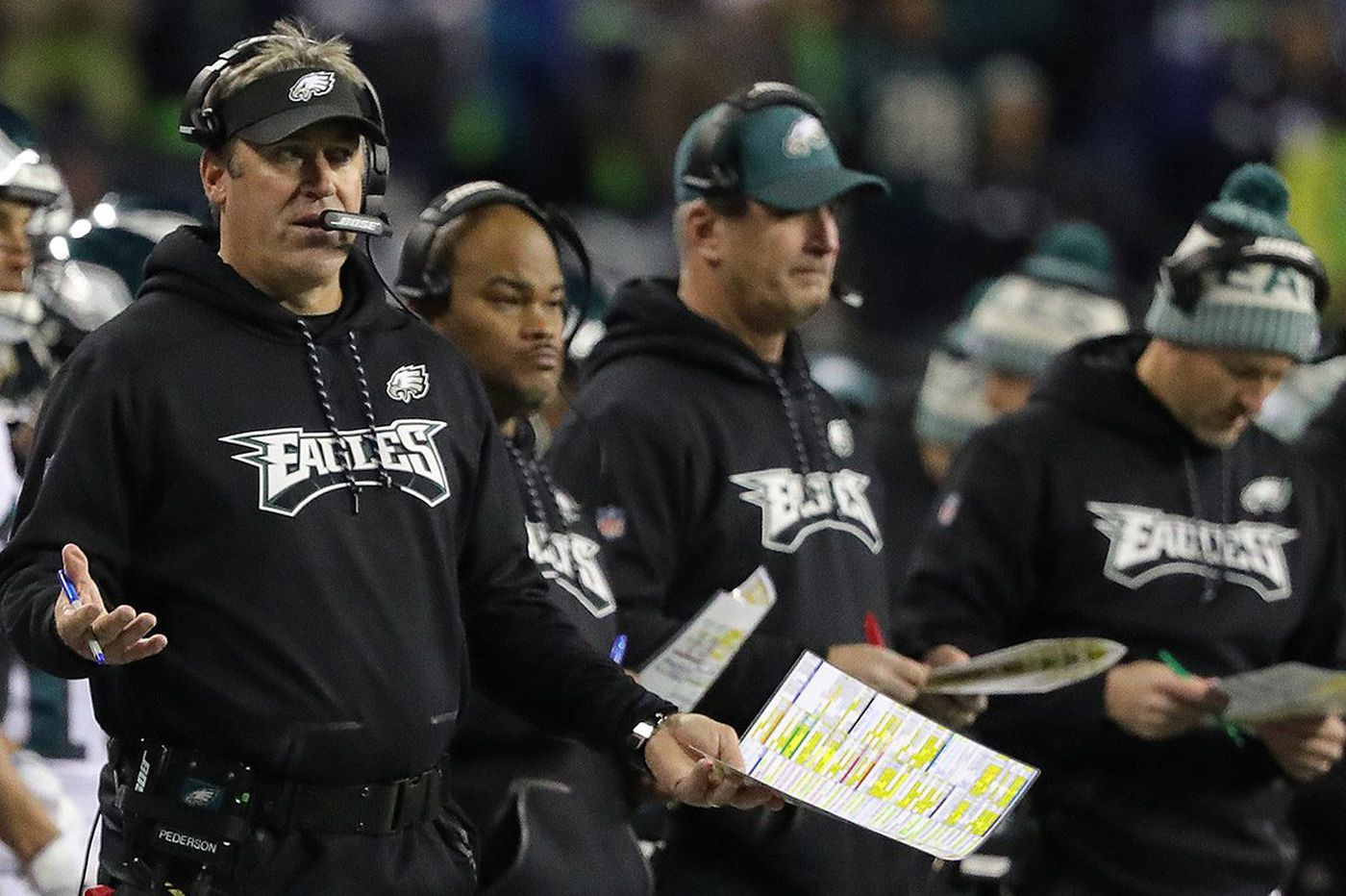Doug Pederson's every decision mattered in Eagles' loss at the Seahawks