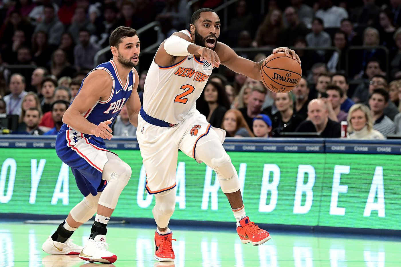 Sixers-Knicks best and worst: James Ennis III's savior role, Norvel Pelle's stellar shot blocking, Mike Scott's shooting woes continue