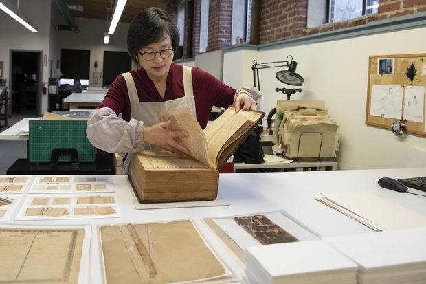 Betsy Ross' imperiled family Bible is saved by local conservation center
