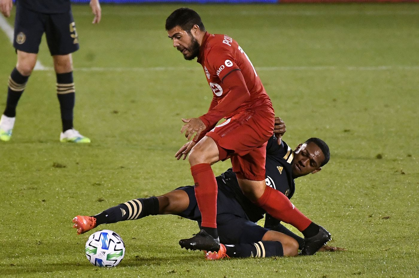 Brenden Aaronson neutralized in Union's loss to Toronto; José Martínez shows how much he matters