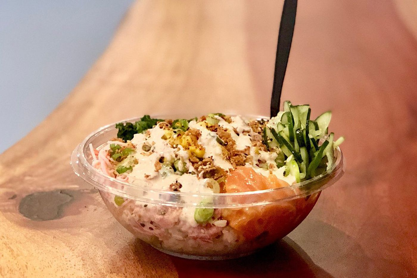 Let's Eat: Poke and the Rittenhouse scene