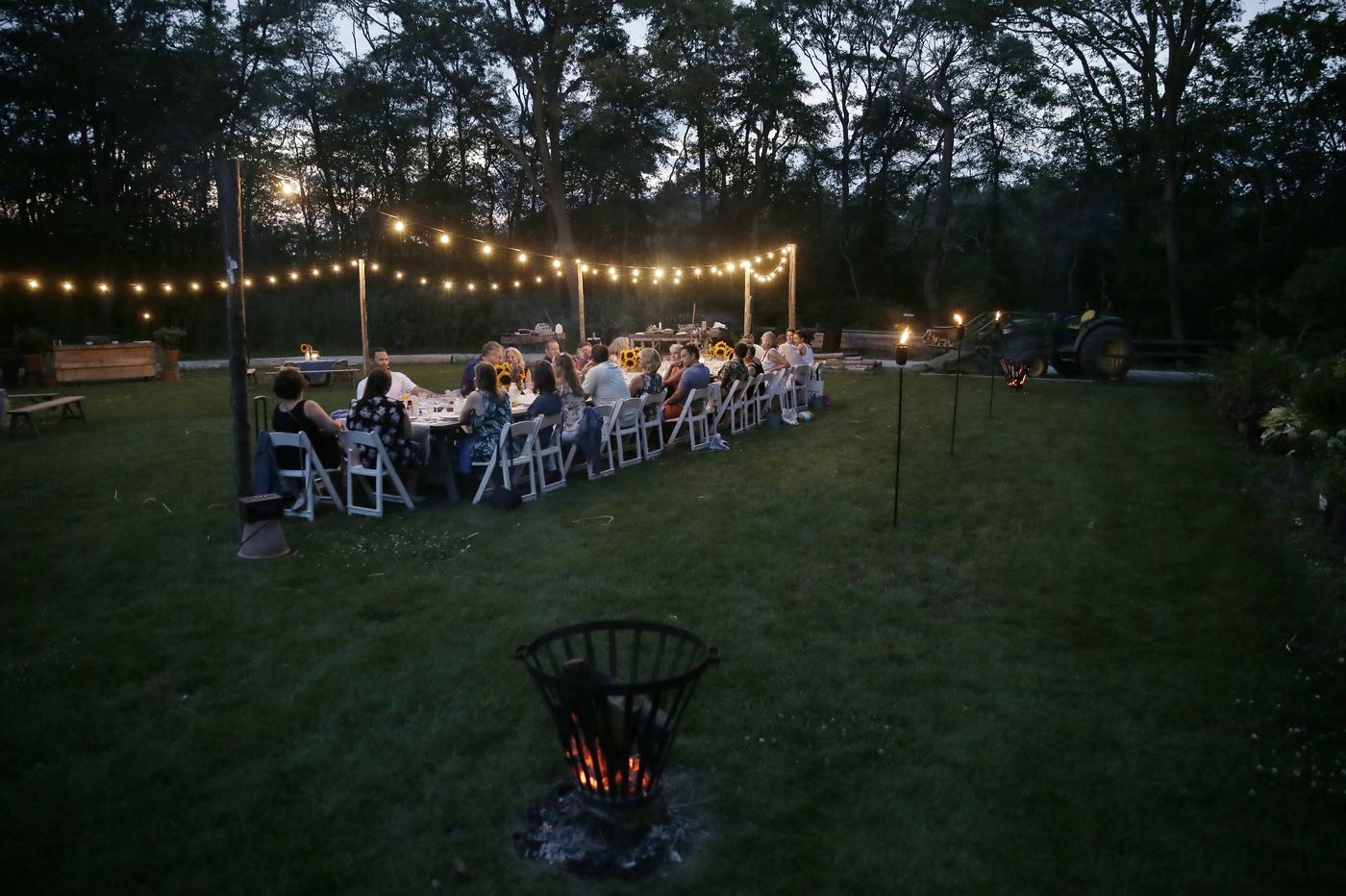 Elegant dinners bloom in West Cape May as Beach Plum Farm grows to full potential