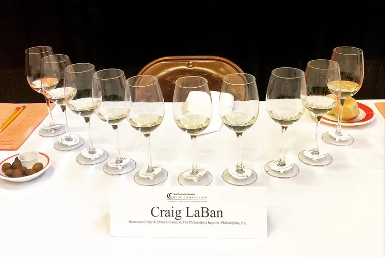 An anonymous flight of rieslings, including a winner from Pennsylvania, awaited Craig LaBan at the San Francisco Chronicle Wine Competition.