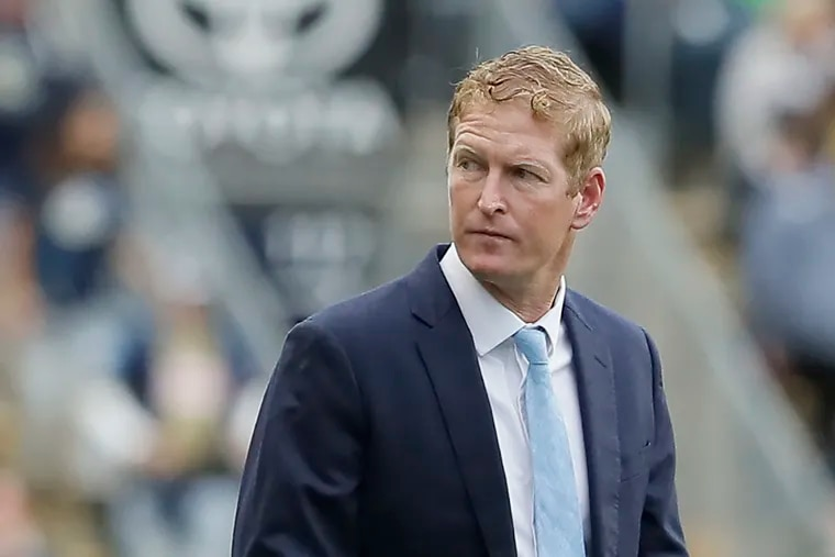 Union manager Jim Curtin