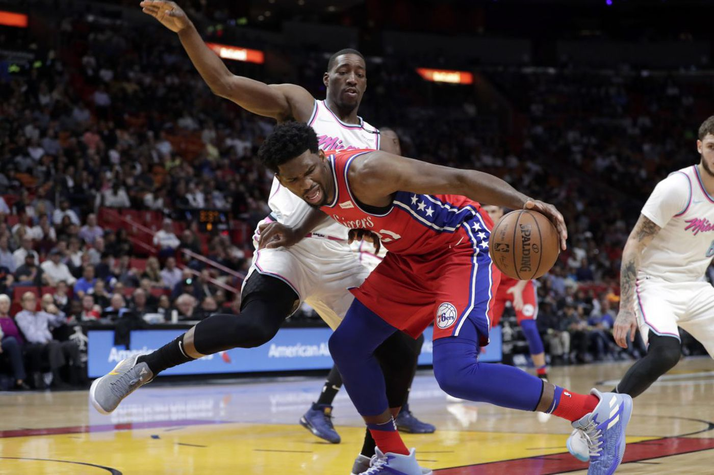 Heat 109, Sixers 99: Joel Embiid outshined by Hassan Whiteside and other quick observations