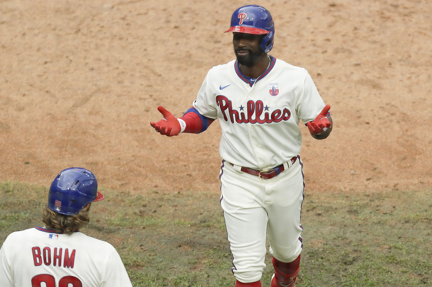 Andrew McCutchen blasts first homer in 443 days as Phillies sweep Mets
