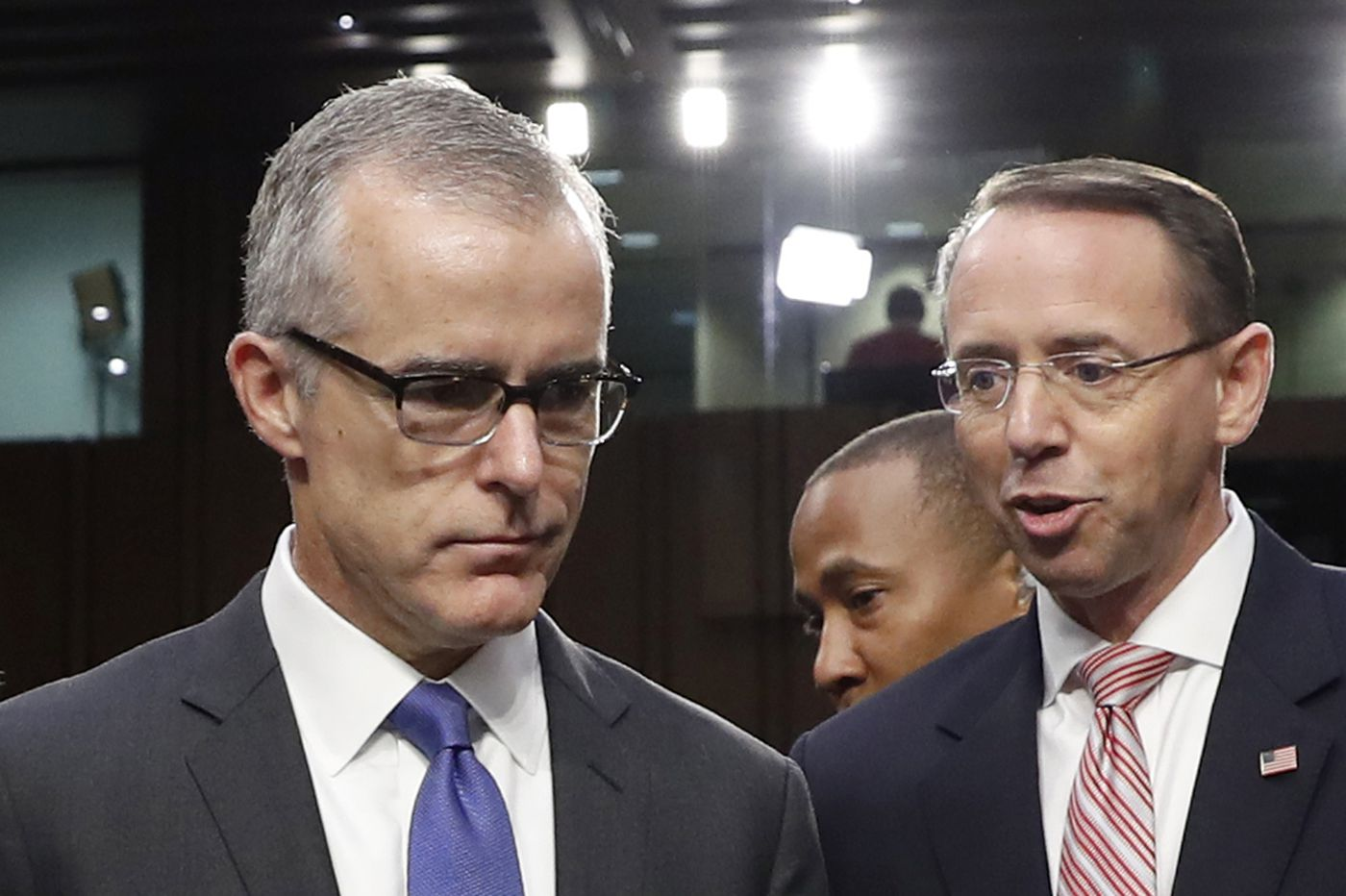 Ex-FBI acting director Andrew McCabe: Discussions were serious about removing Trump from office