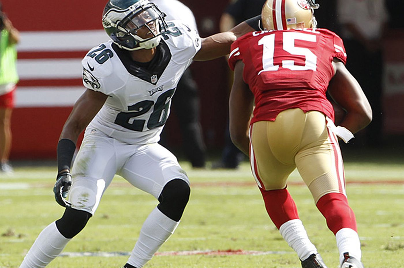 Cary Williams' play says plenty about him