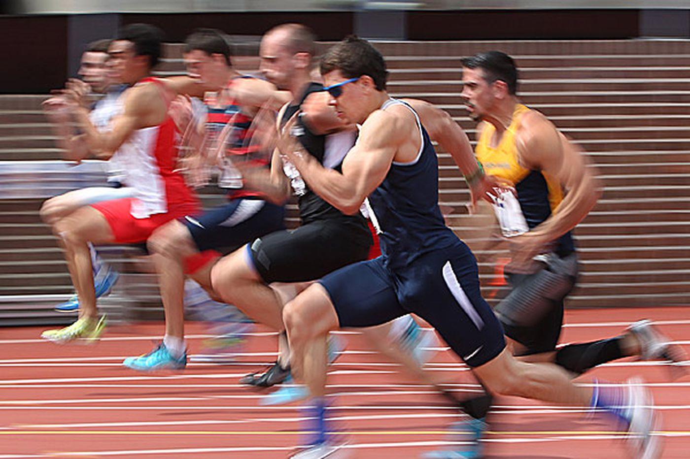 Penn's Pitt takes lead in decathlon