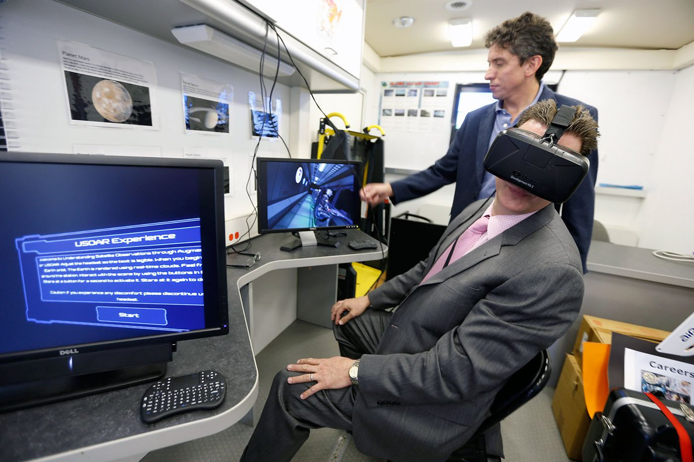 'Space station' lands in Mount Laurel, wows visitors