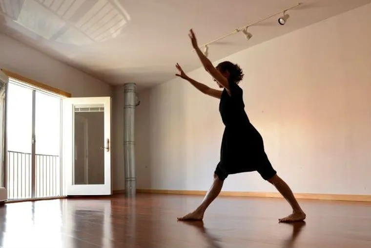 Action Is Primary, an approach to movement created by Meg Foley of  The Whole Shebang, is performed by Marysia Stokłosa.