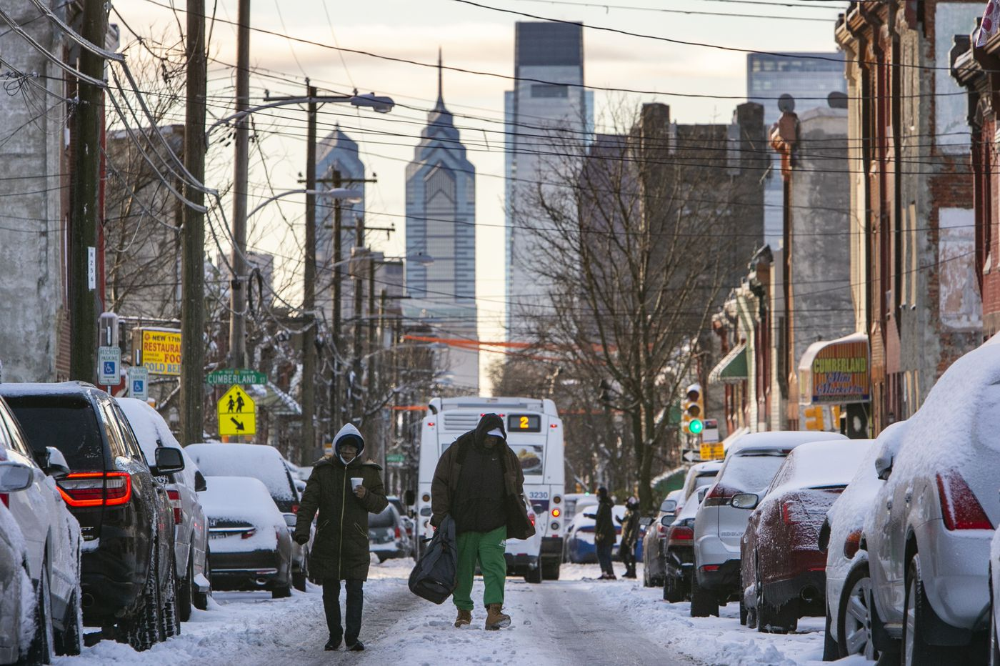Philly region experiences its first major snowstorm in 1,000 days