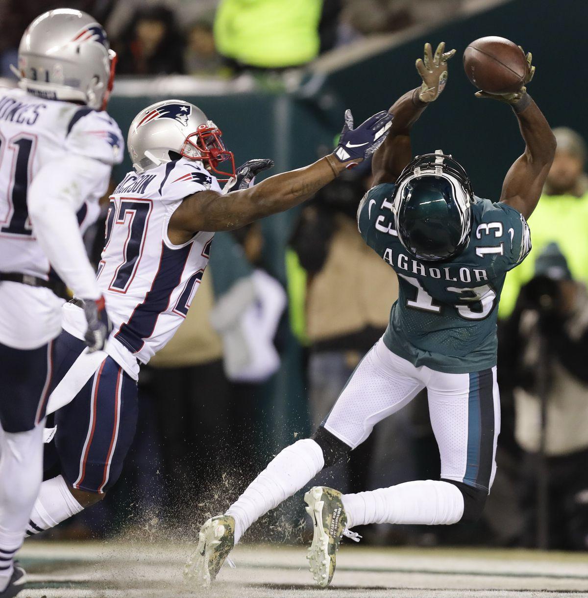 New England Patriots, 17, Philadelphia Eagles, 10 — NFL, Week 11 - The Philadelphia Inquirer