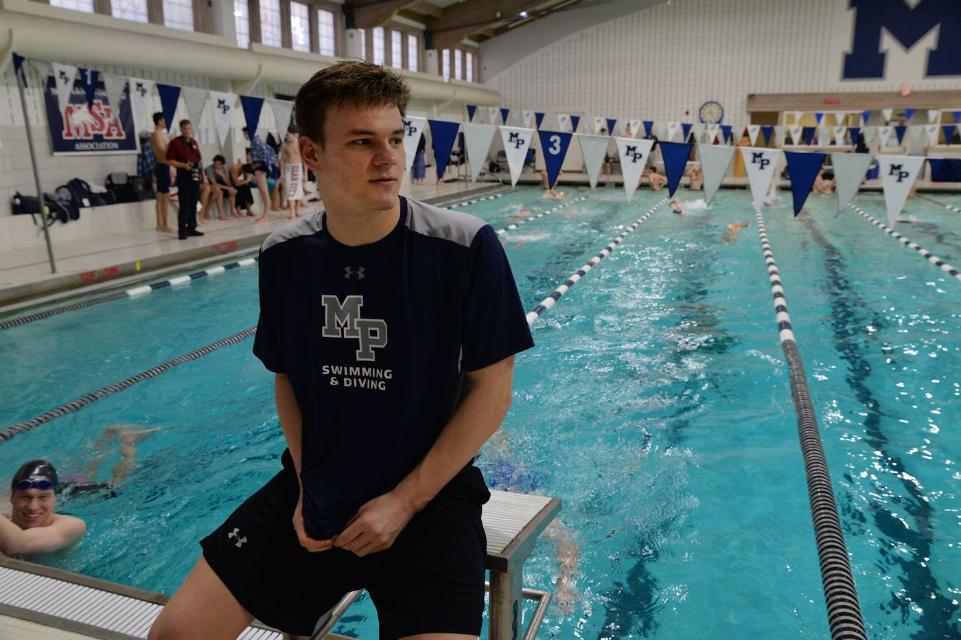 Malvern Prep swimmer Matt Magness, headed to Ohio State, is not done dominating in the pool