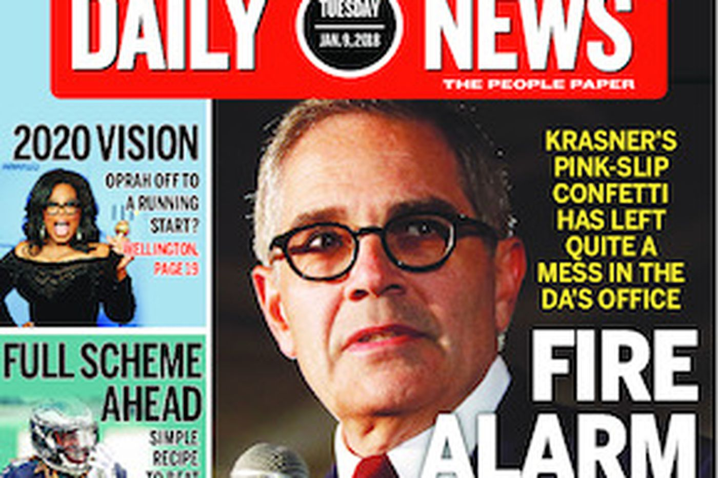 Dailynews Monthly Covers 01/09/18