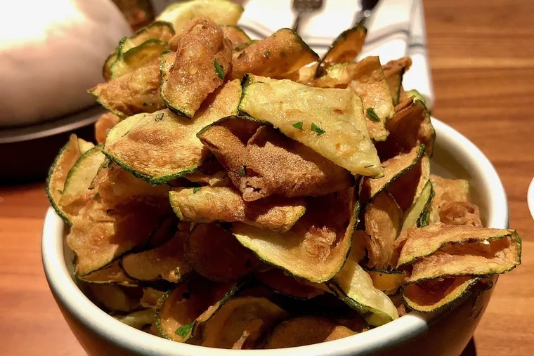 Zucca chips at North Italia, King of Prussia Mall.