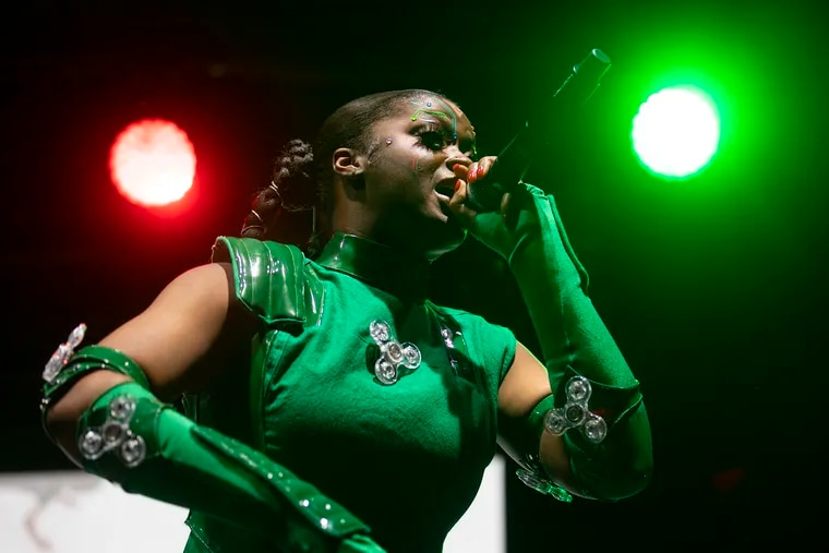 Philly's own Tierra Whack performs at the Made in America festival in September 2019.