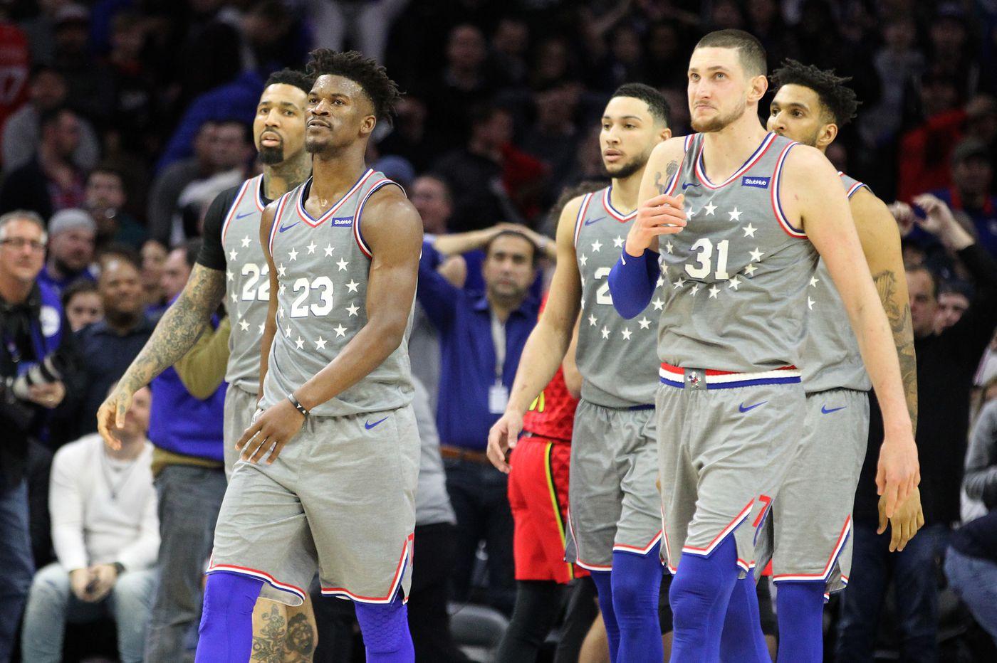 Sixers upset by Atlanta Hawks while missing Joel Embiid