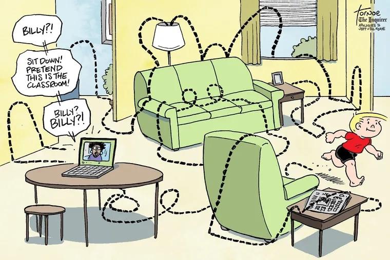 Rob Tornoe's cartoon for Friday, September 18, 2020.