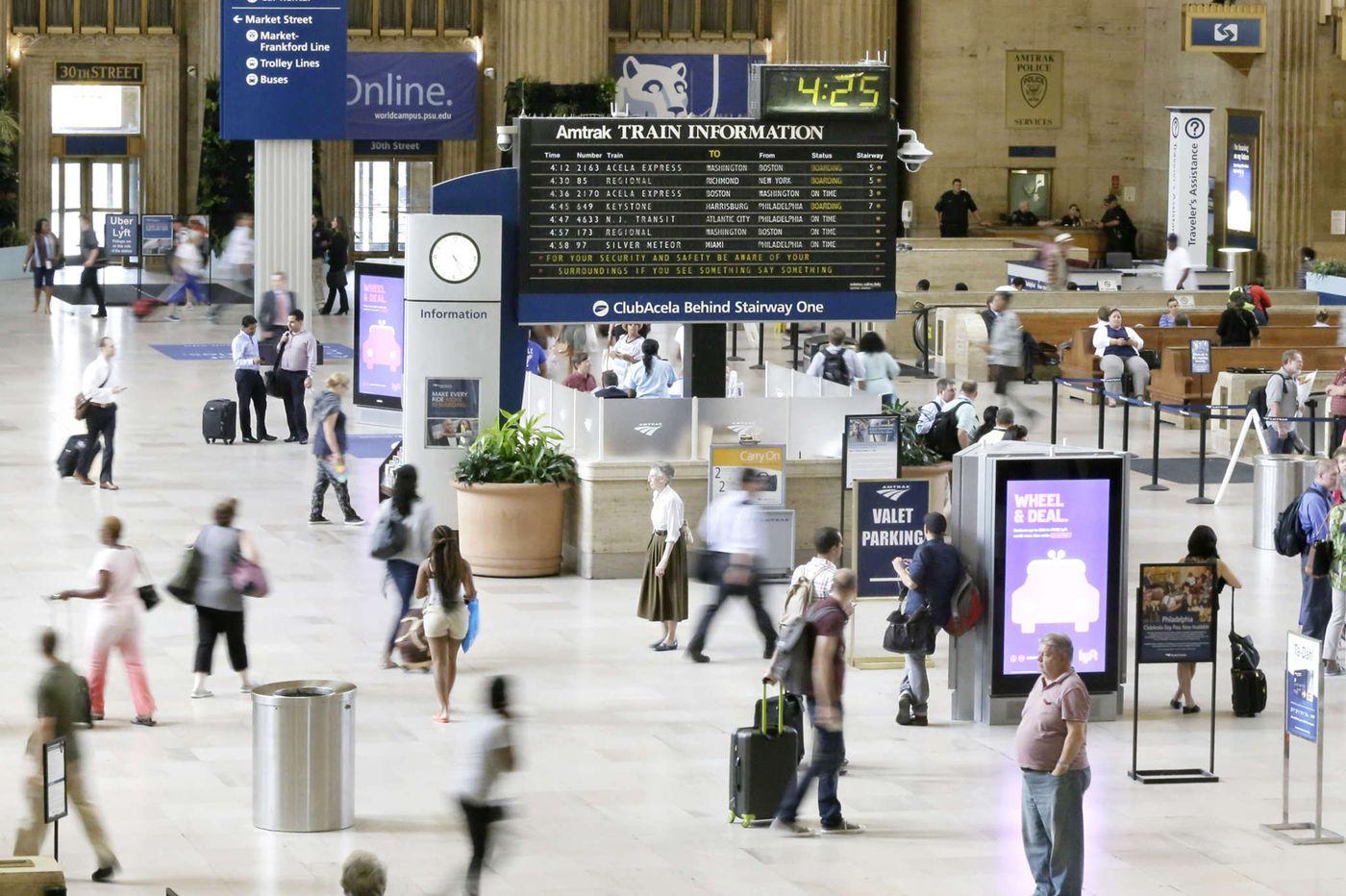 Amtrak, keep the mod flipboard sign. It's part of your heritage. | Inga Saffron