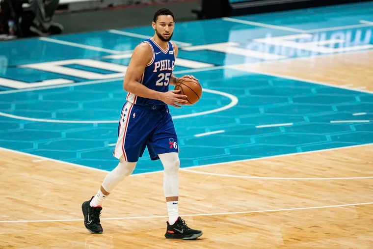 Ben Simmons is averaging 13.4 points, 8,1 rebounds, and 8.0 assists for the 76ers this season.