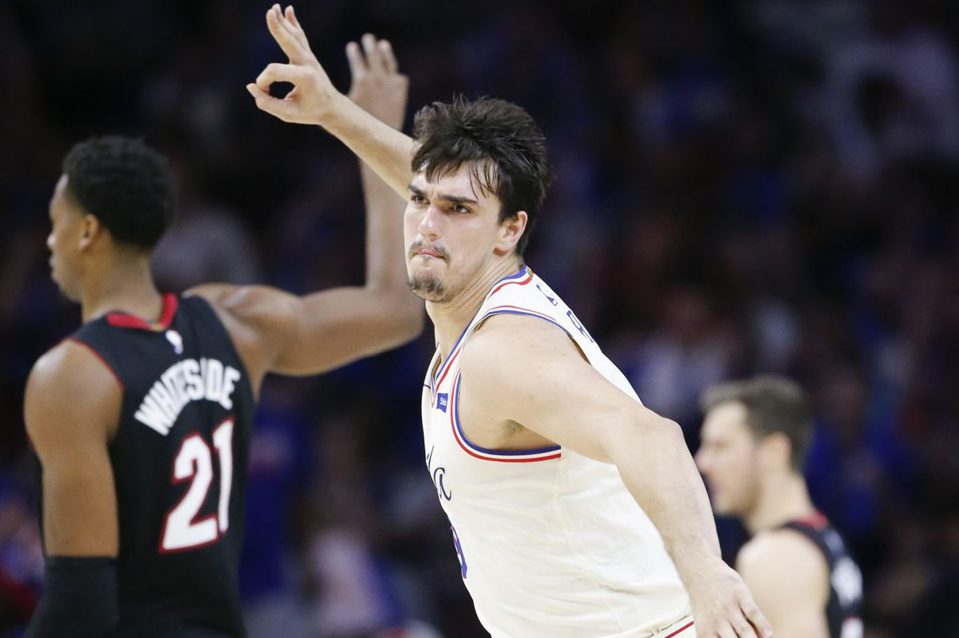 Dario Saric's evolution is another reason the Sixers are thinking big in NBA playoffs | David Murphy