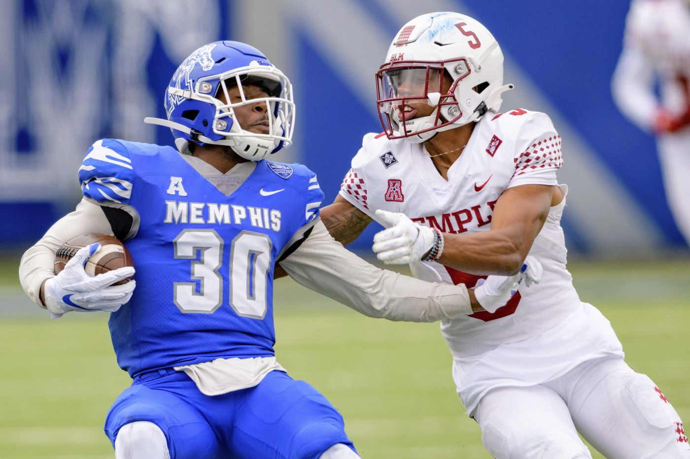 Turnovers cost Temple in 41-29 loss at Memphis