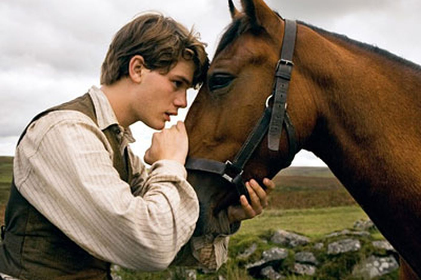 Bloody, sugary, tear-jerker of a tale about a horse and his boy