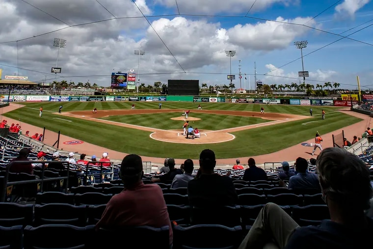 The Phillies closed their training facility in Clearwater, Fla., on Friday after multiple positive COVID-19 tests.