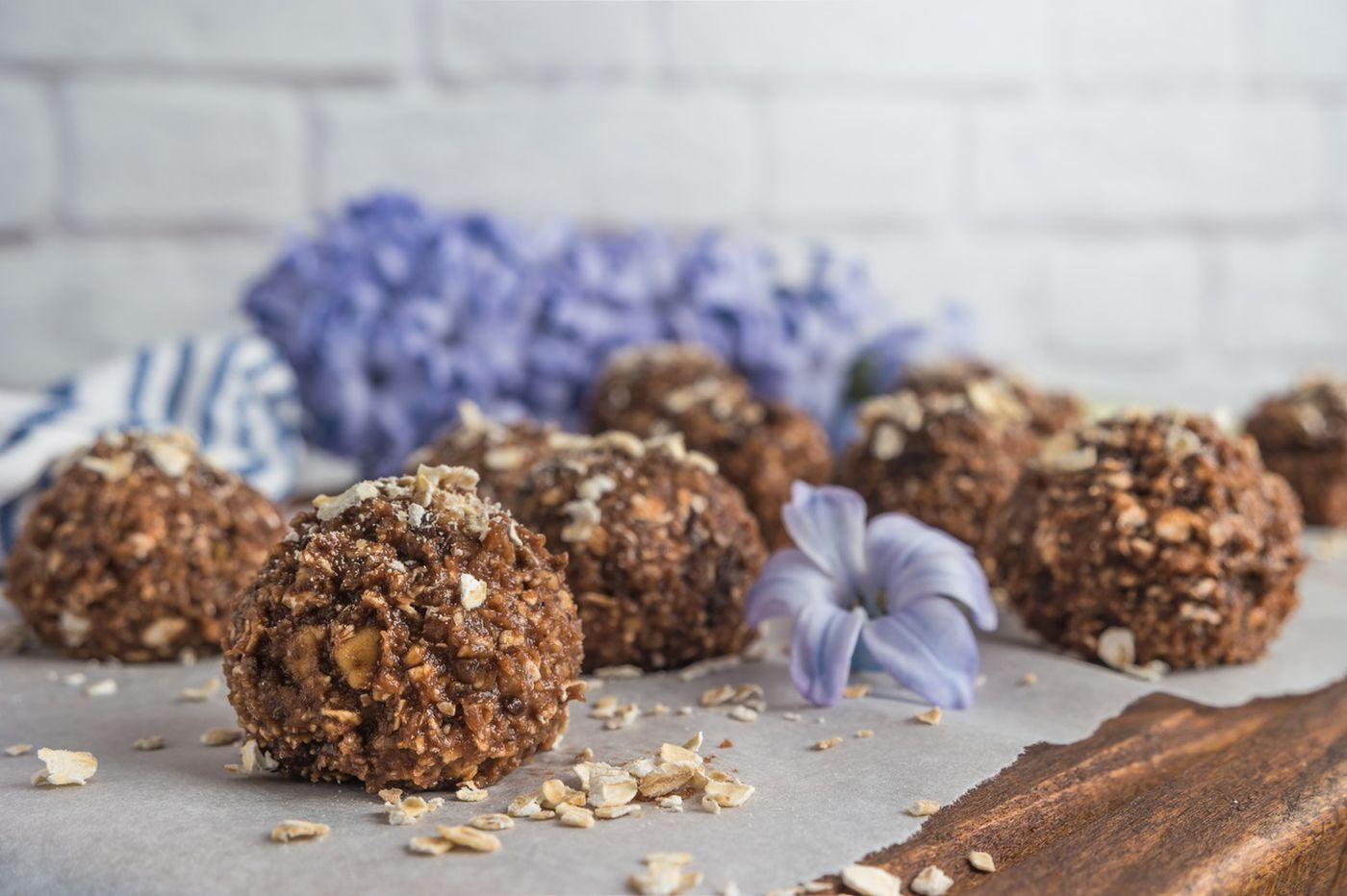 Healthy family recipe: Fruit and nut chocolate truffles