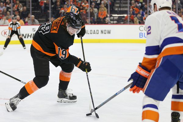 Nolan Patrick making progress, could be a regular at Flyers' practices next week; 'Ghost's' knee improved