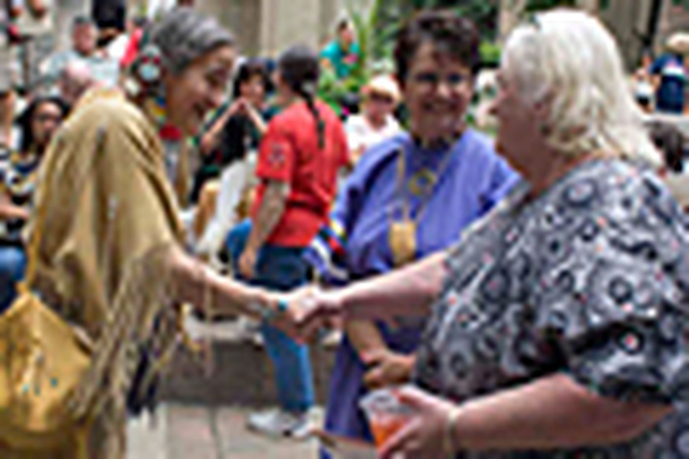 Lenape sign new 'friendship treaty'