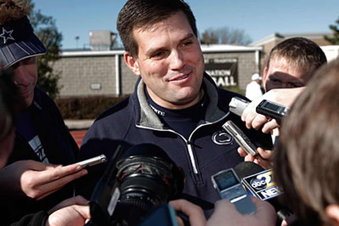 Jay Paterno says Joe Paterno's in good spirits