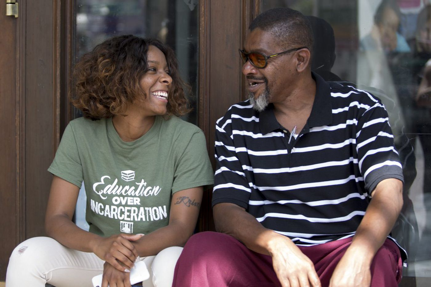 Reconnecting with a father she had only ever known from behind bars
