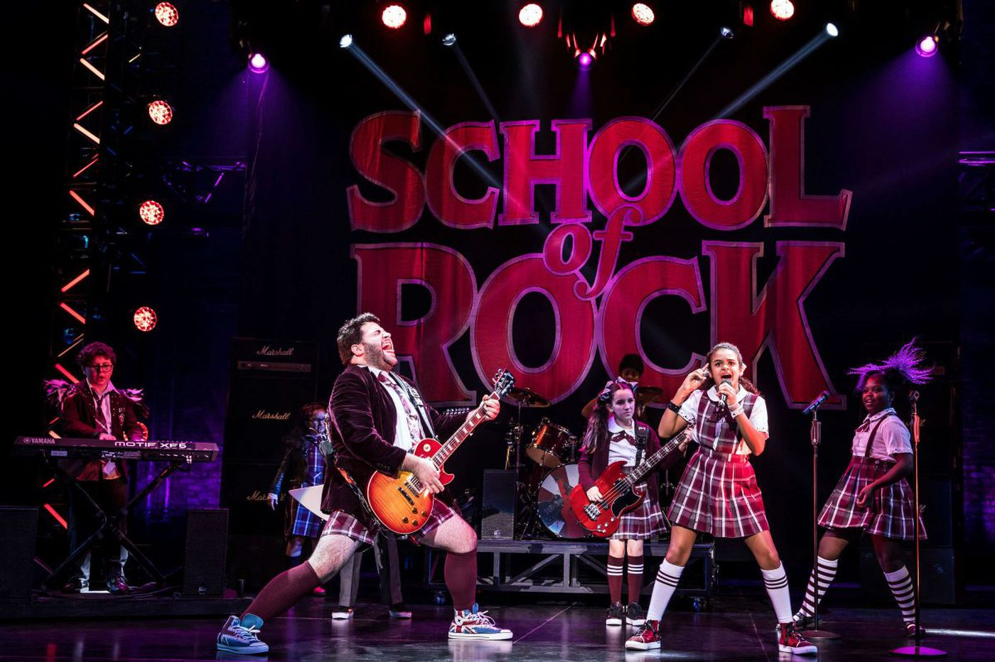 'School of Rock' at the Academy of Music: A two-hour blast of entertainment, with heart