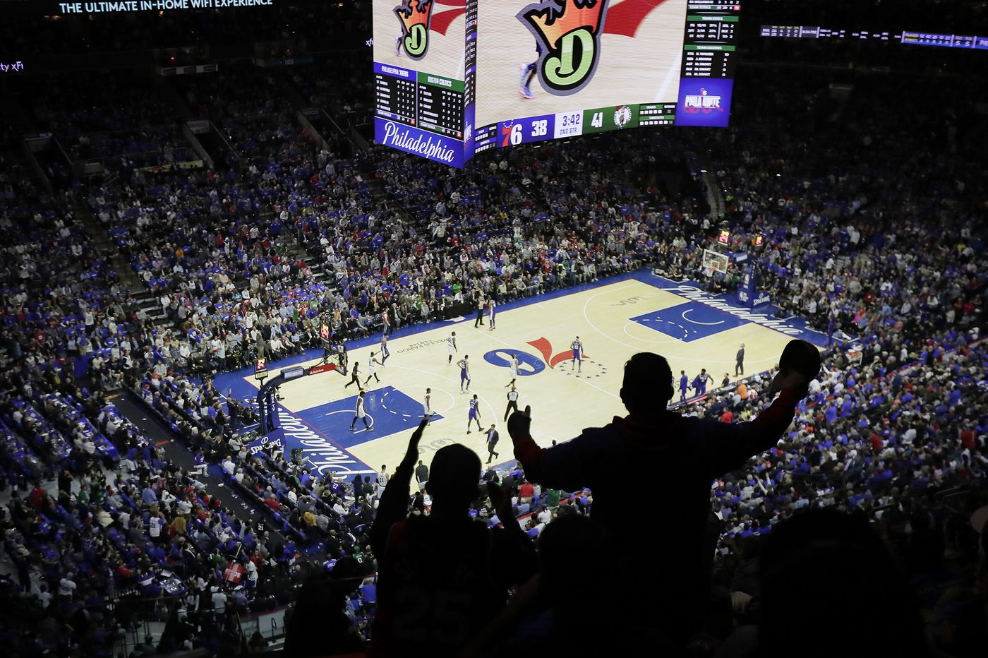 Wells Fargo Center Adds Ban On Political Signs Amid Nba S Spat