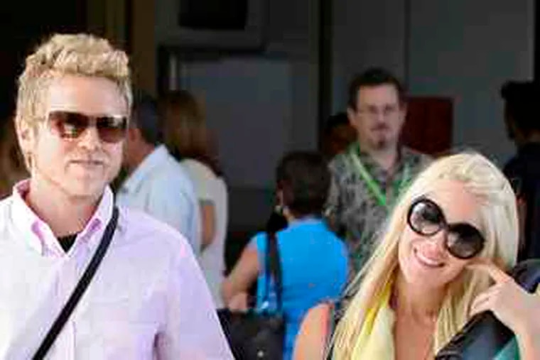 """Spencer Pratt and Heidi Montag Pratt: The feud escalates. (See """"Roker's nonapologetic apology."""")"""