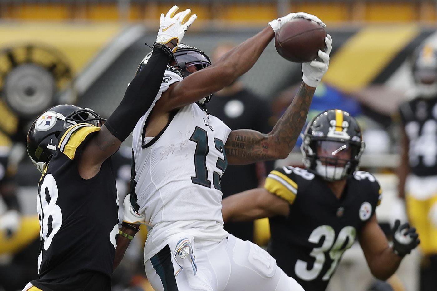 Travis Fulgham, Carson Wentz connect as one of Philadelphia Eagles' few bright spots in Week 5