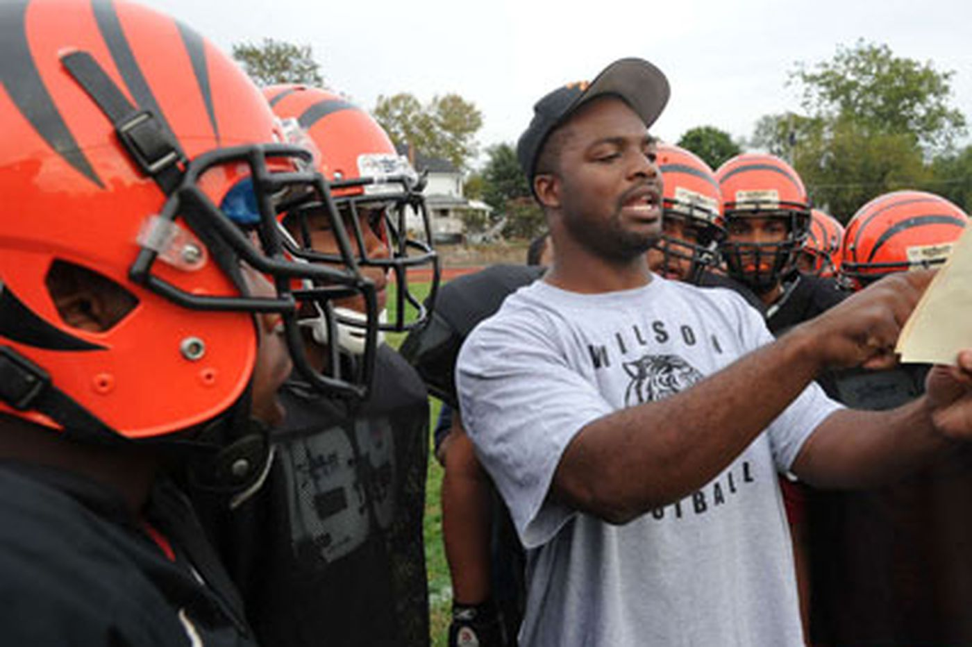 Phil Anastasia: Former Eagle Thomas Tapeh trying to make an impact as coach at Woodrow Wilson