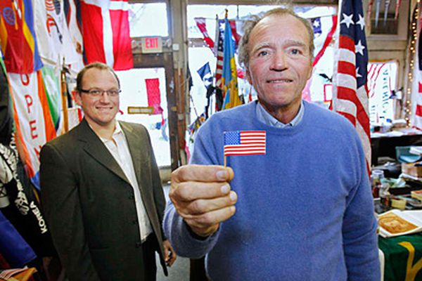 For Old City biz owner, every day is Flag Day