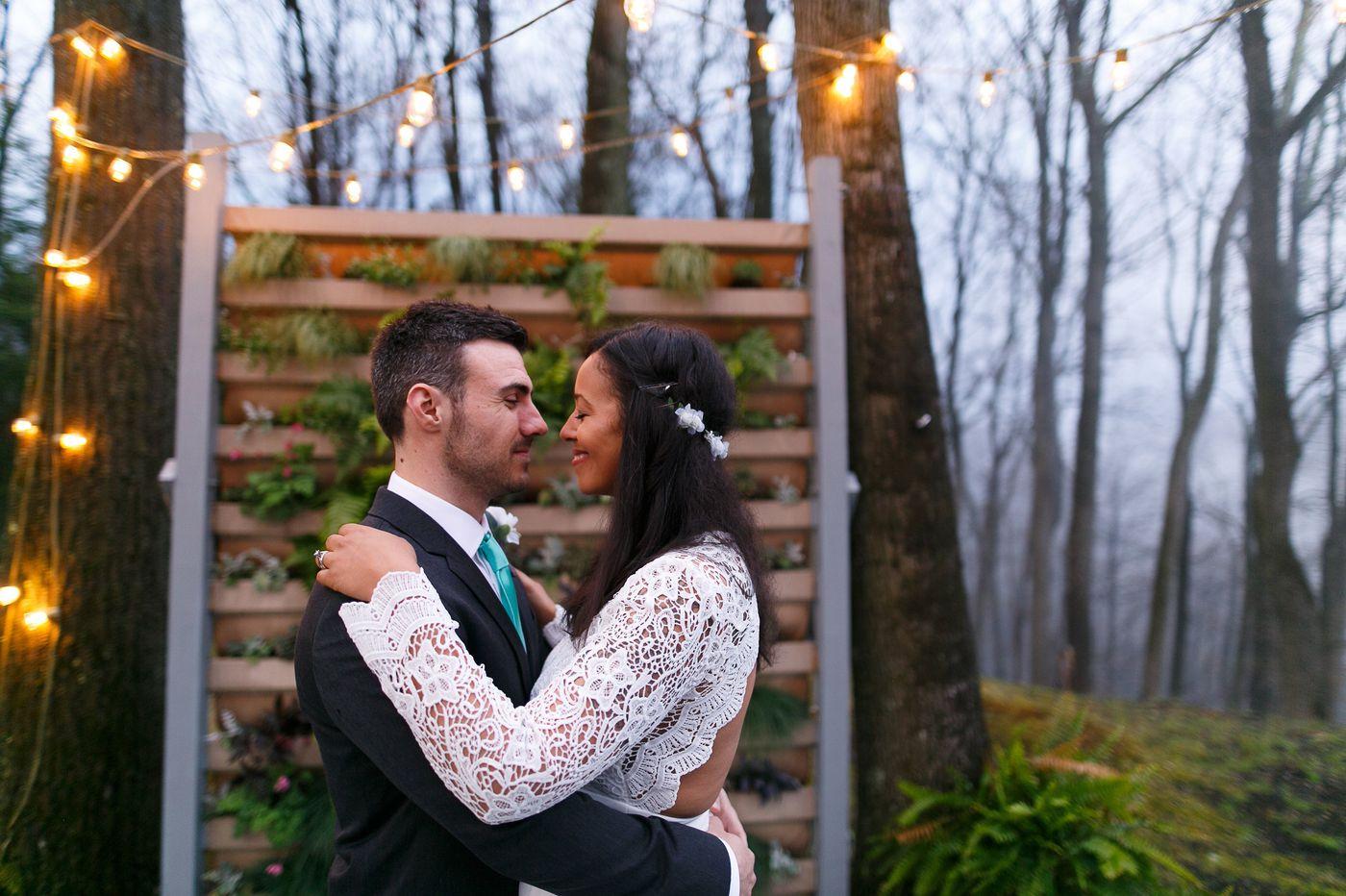 Philadelphia weddings: Ashley Carnes-Carelock and Nicholas Lucente