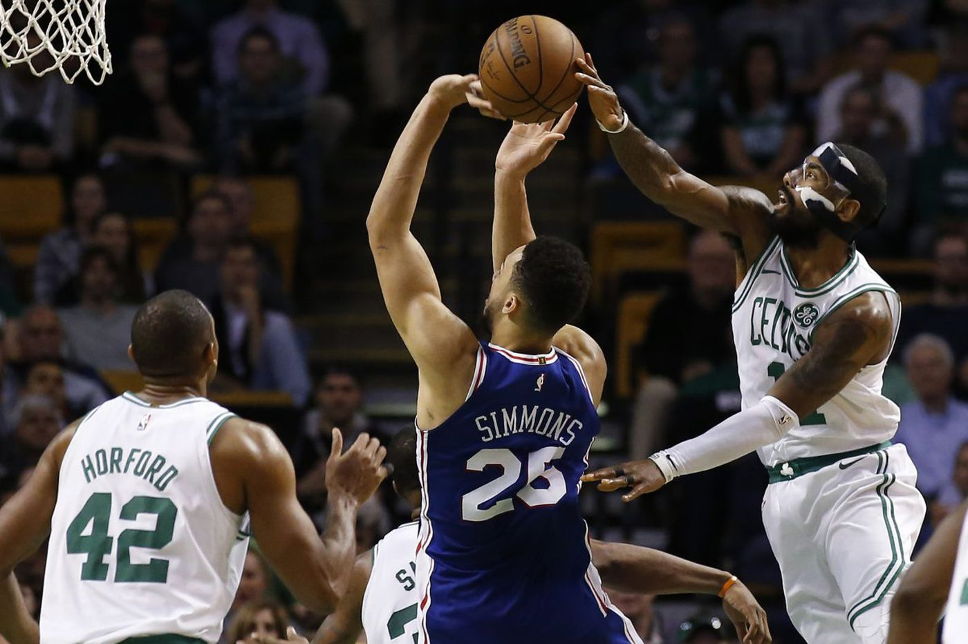 Sixers-Celtics observations: Kyrie Irving, Robert Covington and more free throw woes