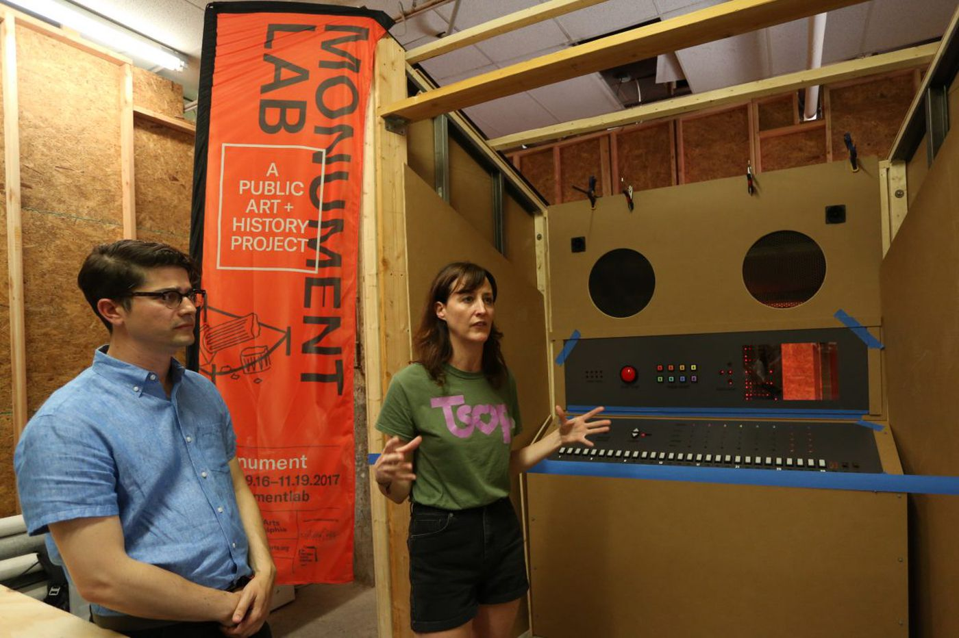 Mural Arts 'remixes' monuments with Monument LAB