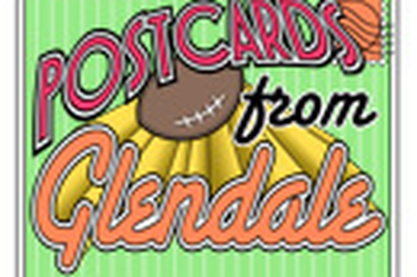 Super Bowl postcards: Day 1