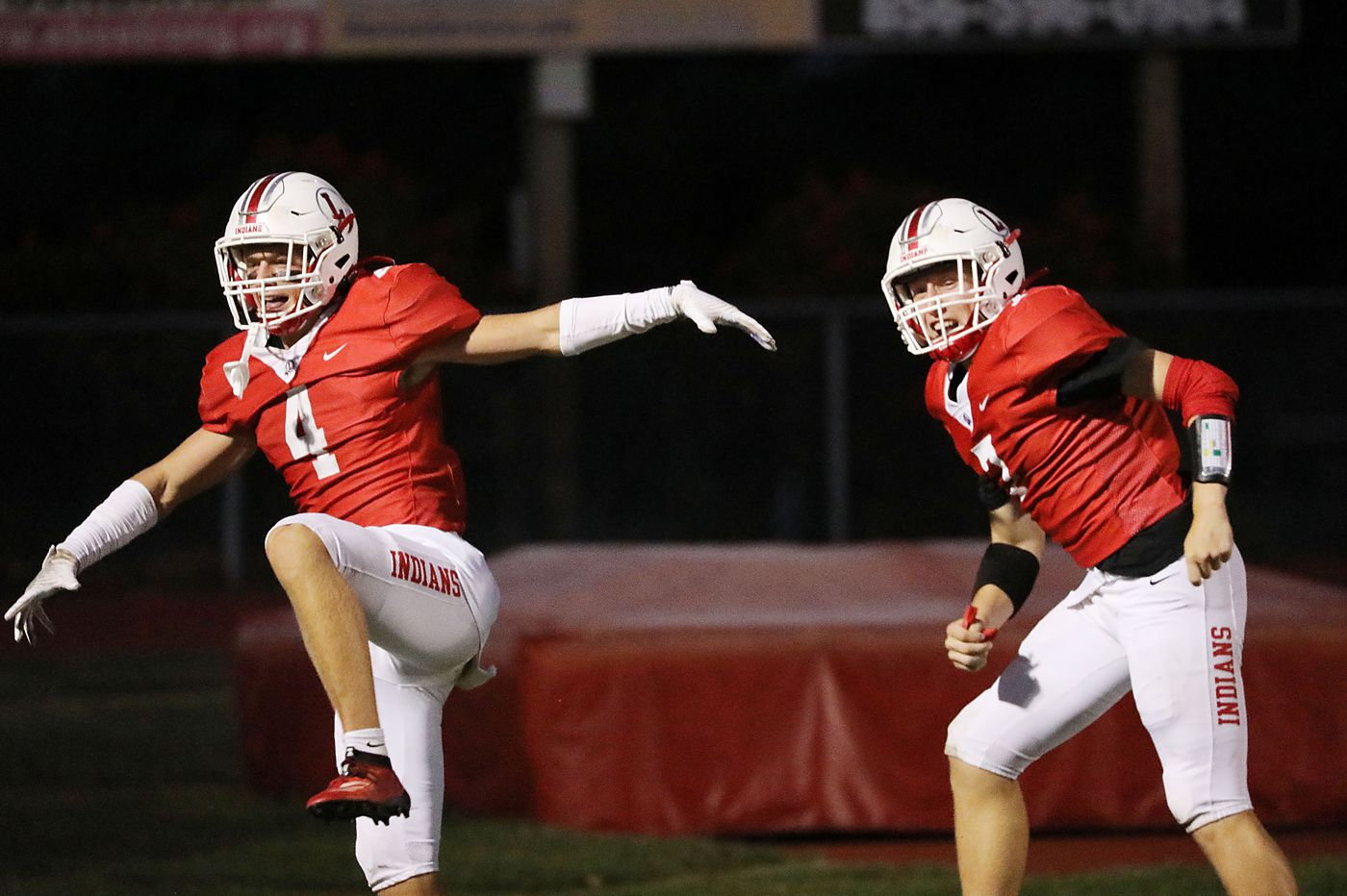 Connor Kennedy helps Lenape roll over St. Augustine, 20-7