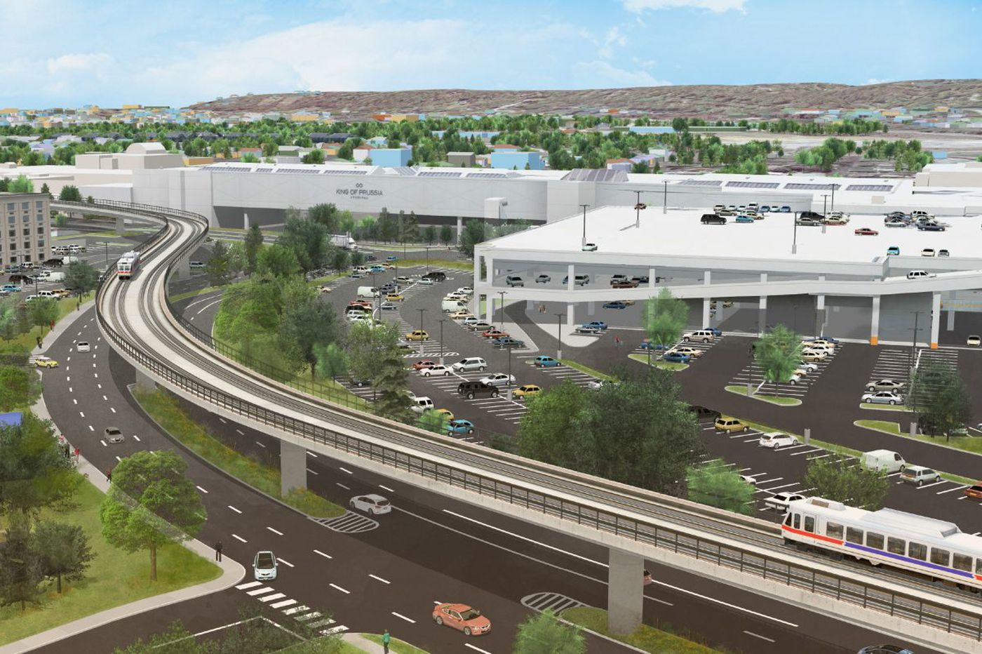 King of Prussia rail line will be 5 miles. So why is SEPTA on a 10-year plan?