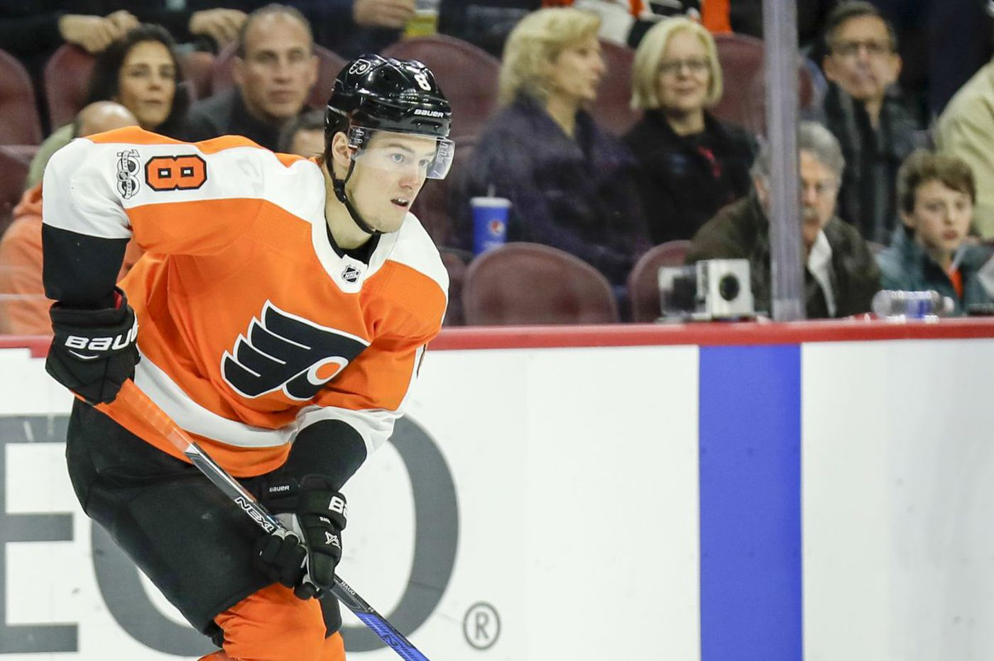 Flyers rookie Robert Hagg showing poise beyond his years
