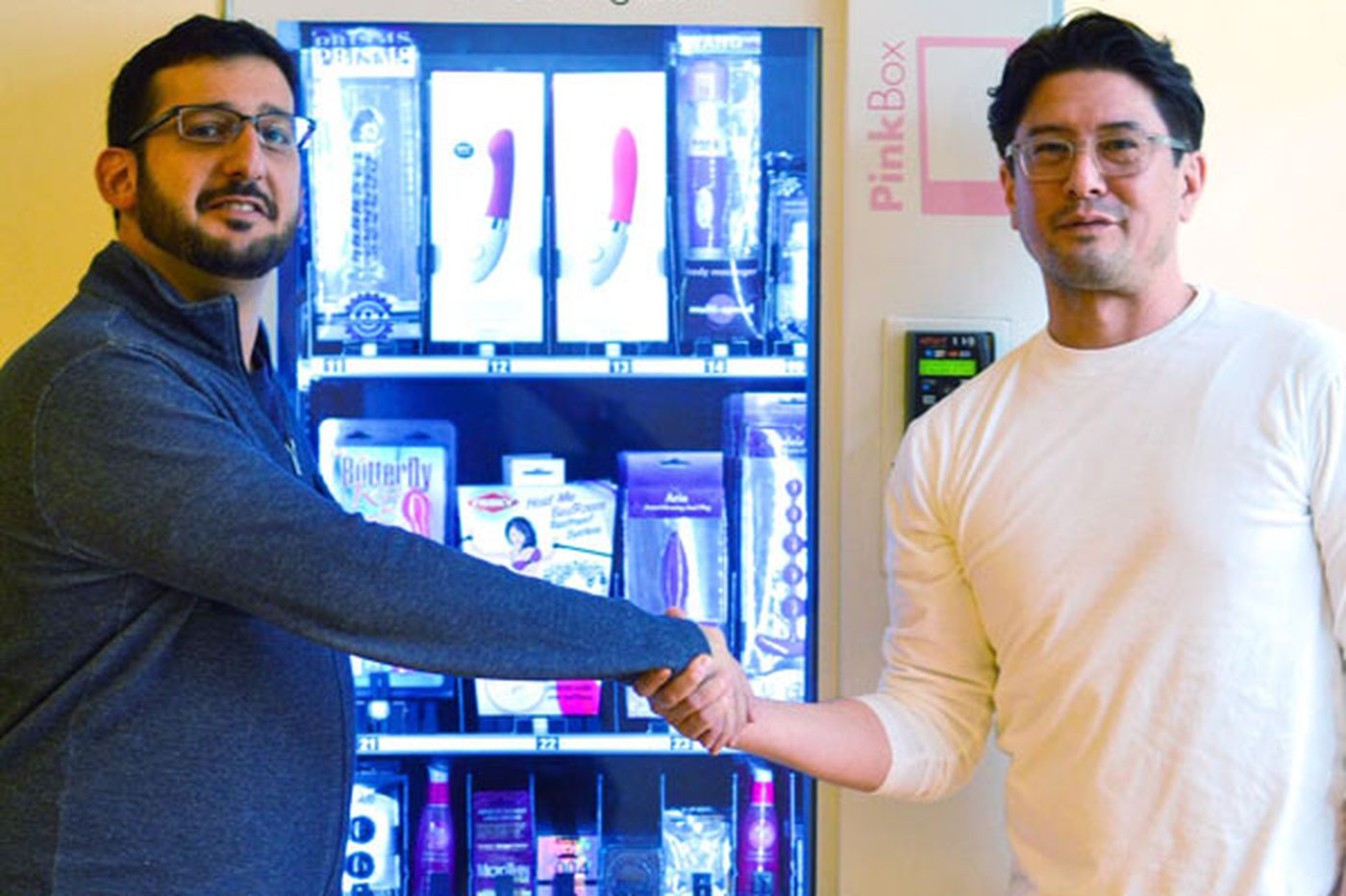 Sex-toy vending machine sells pleasure for a penny