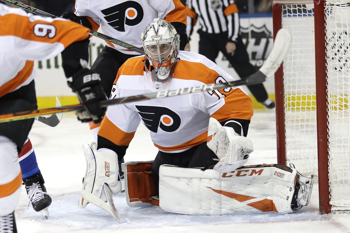 With Carter Hart, Flyers finally have an edge in net, even against Henrik Lundqvist | Mike Sielski